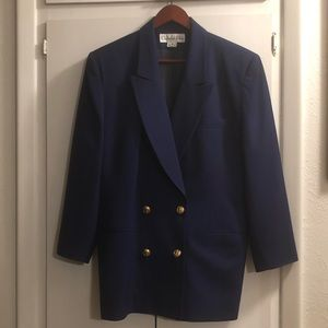 Vintage Christian Dior Blazer with Skirt Suit